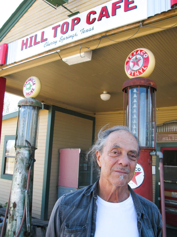 Johnny Nicholas has turned the running of the Hilltop Cafe over to his two sons so he can focus on his music career.