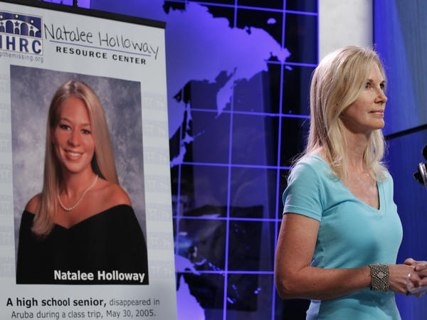 Beth Holloway, the mother of Natalee Holloway, started a center in 2010 to assist the families of people who had gone missing. Natalee's 2005 disappearance during a vacation in Aruba was widely covered in the news media.
