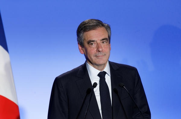 Francois Fillon is the presidential candidate of the center-right Republicans party.
