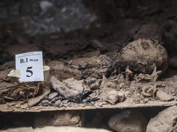 The mummies were well-preserved, which means they likely were priests or officials, the AP reports.