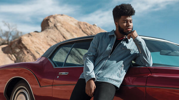 Khalid's debut album, <em>American Teen</em>, explores timeless themes of love and loss.