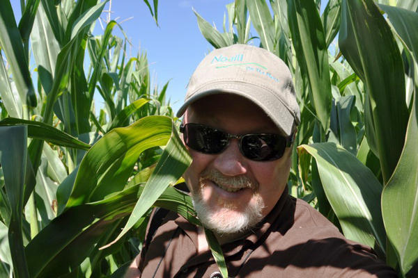 Journalist Chris Clayton writes for an audience filled with climate skeptics: farmers and leaders of agricultural businesses. He's telling them that a changing climate will disrupt their lives.