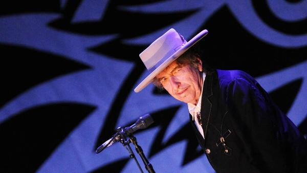 Bob Dylan, recipient of the 2016 Nobel Prize for Literature.
