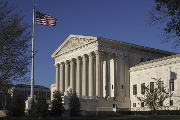 """The Supreme Court has not ruled on """"purely partisan gerrymanders,"""" which means drawing voting districts with the aim of strengthening one political party, since 2004."""