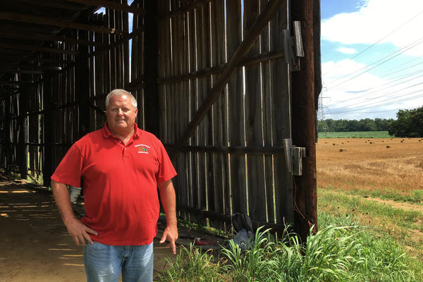 Chip Bowling is a Maryland farmer and chairman of the National Corn Growers Association. He farms on land that's been in his family for seven generations.