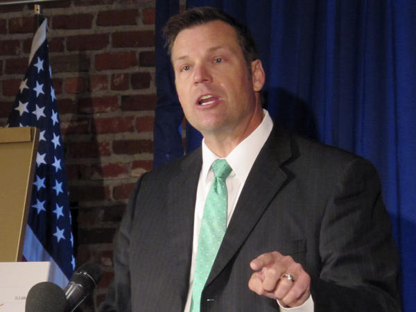 Kansas Secretary of State Kris Kobach's letter on behalf of the White House's voting security commission has drawn criticism from some state officials.