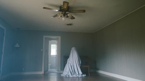 <em>A Ghost Story</em> unfolds in long, static shots, most of them without faces to hang onto.