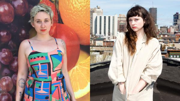 Twins Allison (left) and Katie Crutchfield started out playing music together as teens. Since then, their work has taken them in different directions; each has a new solo album out this year.