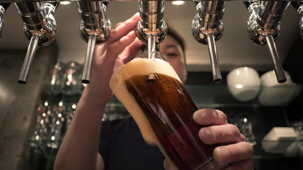 As a result of all the competition in the craft beer market, craft beer prices are rising more slowly than big-name beers, which are largely consumed by poorer people.