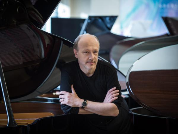 Pianist Marc-André Hamelin's new album features <em>For Bunita Marcus</em>, by Morton Feldman. Hamelin has released 70 albums on the British Hyperion label.
