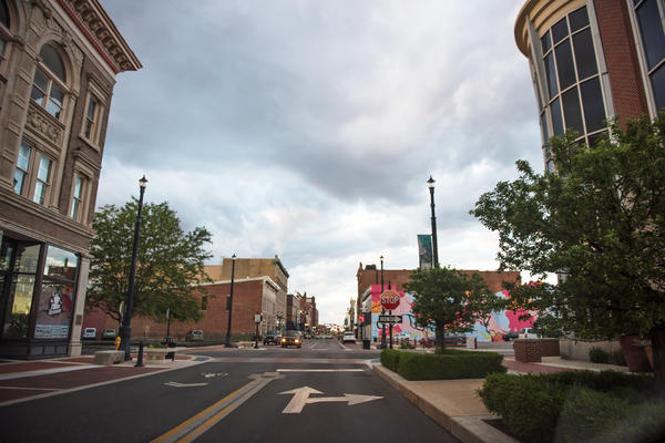 Downtown Muncie, Ind., has seen revitalization over the past several years.