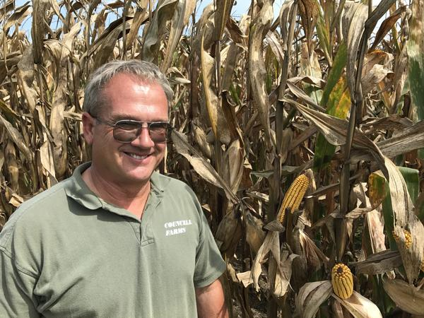 Chip Councell's ancestors began farming on Maryland's Eastern Shore in 1690. He says that in today's world, U.S. farmers have to look abroad for markets.