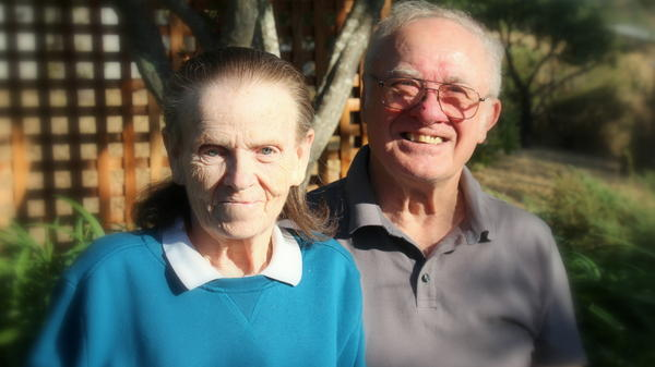 The photo of LeRoy and Donna Halbur was taken Aug. 12 at the celebration of their 80th birthdays and 50th wedding anniversary.