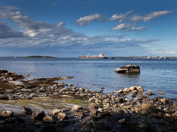 Narragansett Bay in Rhode Island.