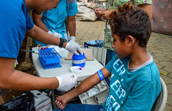 During the study's 12-year period, researchers collected more than 41,000 blood samples from more than 8,000 children in Nicaragua.