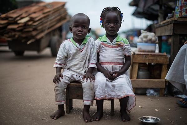 Fousseni and Foussena, age 4