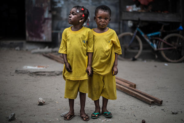 Asana and Alasan, age 4
