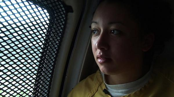 Cyntoia Brown is pictured in a still from the 2011 documentary <em>Me Facing Life: The Cyntoia Brown Story. </em>Her case is renewing questions about how child sex trafficking victims are treated by the justice system.