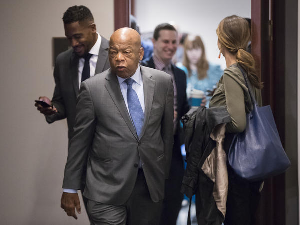 Rep. John Lewis, D-Ga., says he'll skip the opening of  a Mississippi civil rights museum because President Trump is scheduled to attend.