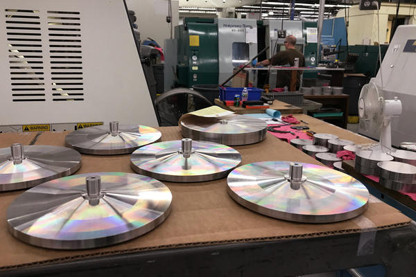 The Custom Group creates precision parts for nuclear submarines, jet planes, and a range of other applications.