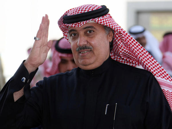 Prince Miteb bin Abdul Aziz, son of Saudi King Abdullah bin Abdul Aziz, shown here in Riyadh in 2008, reportedly paid $1 billion after being detained by Saudi authorities.
