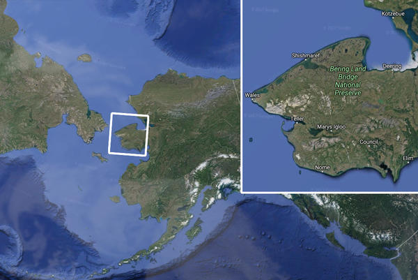 Alaska's Bering Land Bridge National Preserve is the scene of an archaeological dig.