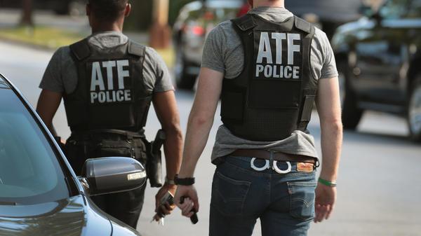 ATF police in June in Chicago.