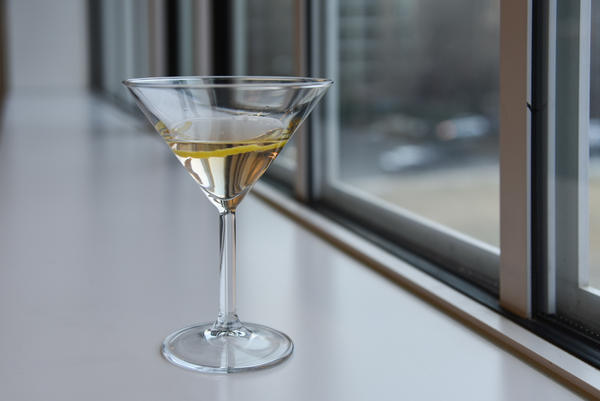 Radio Silence, a cocktail developed by Damon Boelte of the Grand Army Bar in Brooklyn to honor Robert Siegel.