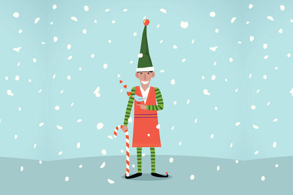"""This year marks the 25th anniversary since David Sedaris' """"Santaland Diaries"""" first aired on <em>Morning Edition</em>."""