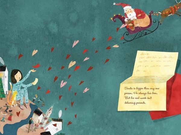 'Love, Santa' by Martha Brockenbrough.