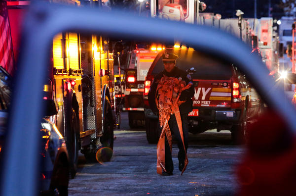 """The fire commissioner said it was """"way too early"""" in the investigation to talk about what might have caused the fire."""