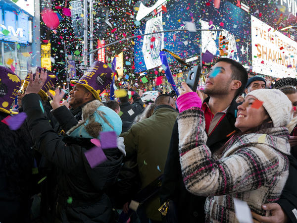 Crowds will gather again for New Year's Eve celebrations in New York's Times Square, but Twitter has other suggestions for midnight entertainment.