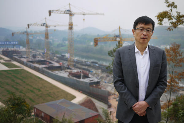 """Developer Su Shaojun, president of Seven Stars Investment Group, was inspired to build a replica of the Titanic after watching the blockbuster film 20 years ago. He is also building a theme park around the ship which he claims will feature the """"world's largest indoor beach."""""""