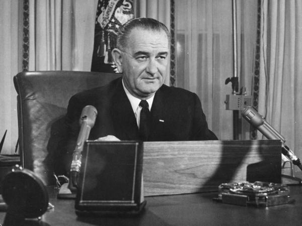 """In the 1964 State of the Union, President Lyndon B. Johnson said, """"A nation that was built by the immigrants of all lands can ask those who now seek admission, 'What can you do for our country?' But we should not be asking, 'In what country were you born?' """""""