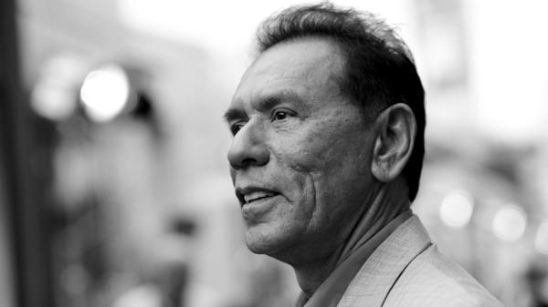 Wes Studi, pictured here in 2014, says he got into acting through community theater.