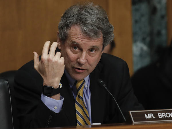 Sen. Sherrod Brown, D-Ohio, is one of 10 Democrats running for re-election in 2018 in a state President Trump carried.