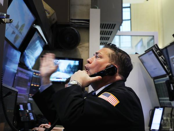 It's been a volatile week on the floor of the New York Stock Exchange, and Friday was no exception.