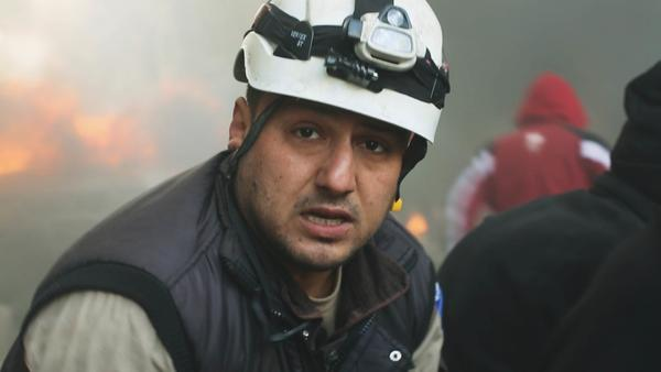 White Helmet Khaled Omar Harrah was killed during an airstrike in 2016. He's part of a group of volunteer rescue workers featured in the documentary <em>Last Men in</em> Aleppo (available on Netflix)<em>.</em>