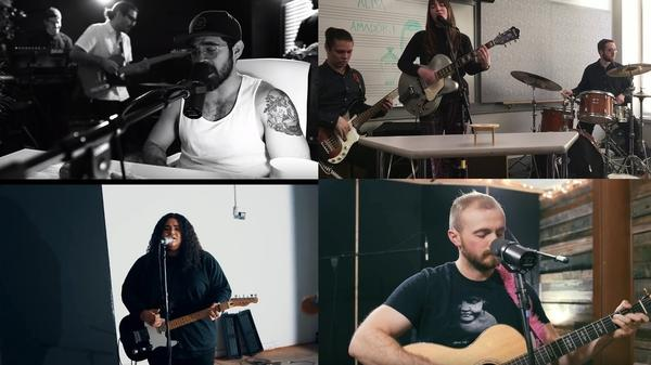 Clockwise from top left: Stan Taylor; Alisa Amador; Joe Holt; Nina and The Hold Tight.