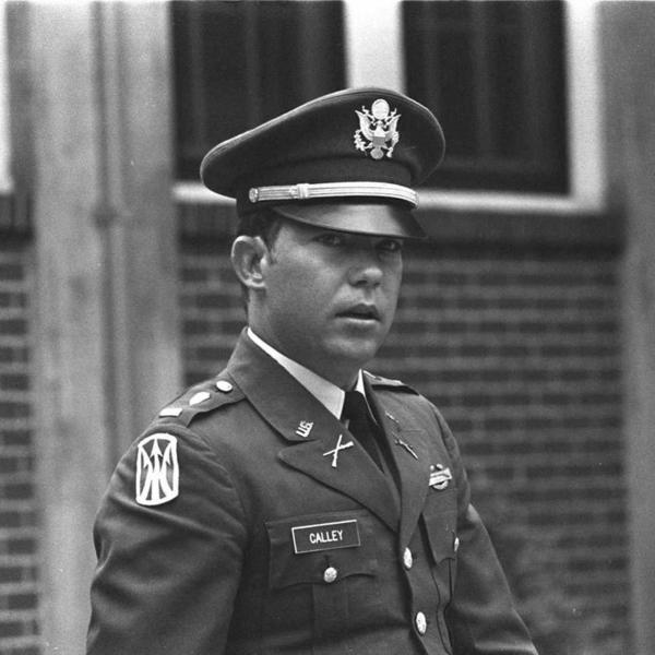 Lt. William Calley during his court martial in 1971.