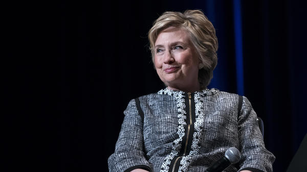 Hillary Clinton, seen at a 2017 event in New York, recent appeared at a conference in India and talked about the 2016 campaign, saying that she won areas that were hopeful and Trump spoke to voters' racial and gender intolerance.