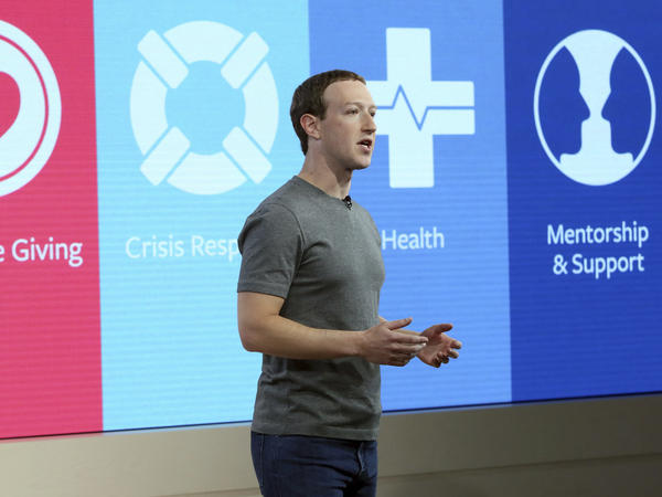 Mark Zuckerberg, Founder, Chairman and CEO of Facebook.