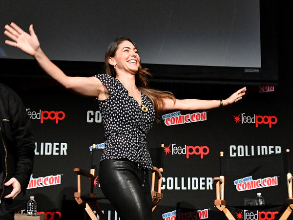 "Actress Natalia Cordova-Buckley, shown here during New York Comic Con last October, has defended her fellow actresses: ""You speak out and they assassinate you in the media,"" she said."
