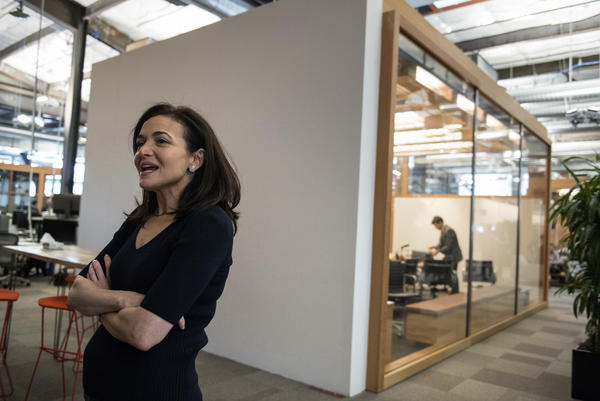 "Facebook's chief operating officer, Sheryl Sandberg interviewed at the company's offices in Menlo Park, Calif., on Thursday€"" told NPR: ""We did not think enough about the abuse cases."""