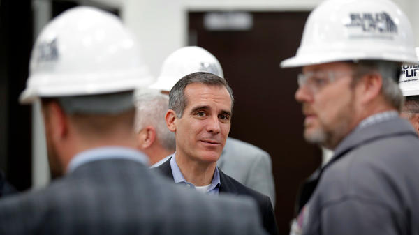 Los Angeles Mayor Eric Garcetti says that how California's housing crisis is handled will make or break the state.