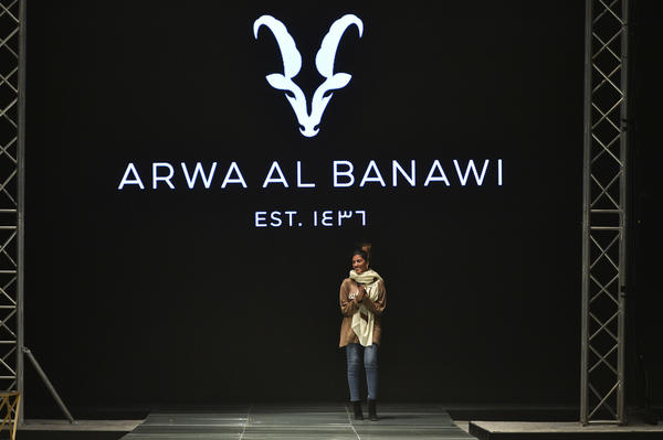 "Saudi fashion designer Arwa al-Banawi says she wants to make life easier for an independent woman ""who is juggling between her life, family, going to work."""