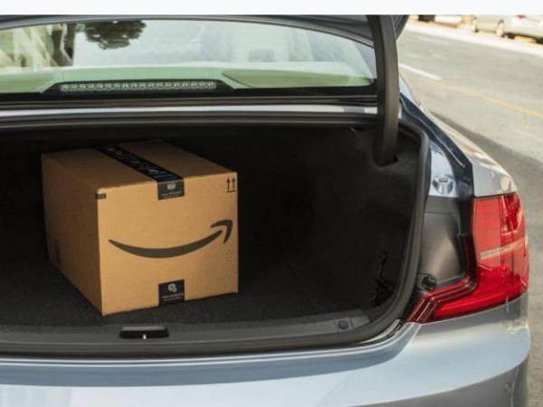 Amazon, which recently started an offer to deliver packages inside people's homes, now offers to deliver inside people's cars.