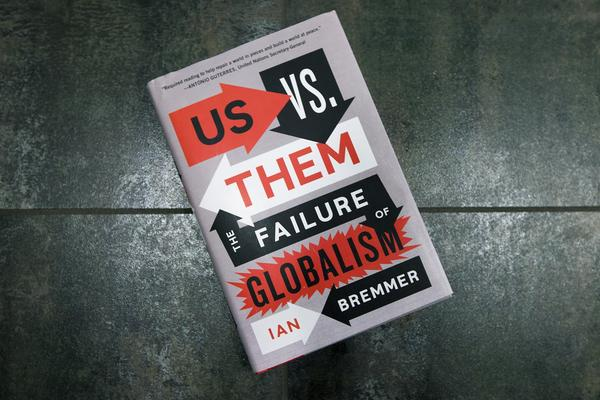 """Us Vs. Them,"" by Ian Bremmer. (Jesse Costa/WBUR)"