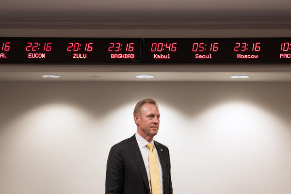 Deputy Secretary of Defense Patrick Shanahan at the Pentagon on Monday.