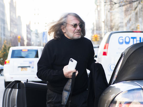 Dr. Harold Bornstein arrives at his office in New York in December 2015. He released a letter in 2015 describing Donald Trump's health in glowing terms, but now tells CNN that the then-candidate dictated the whole thing.